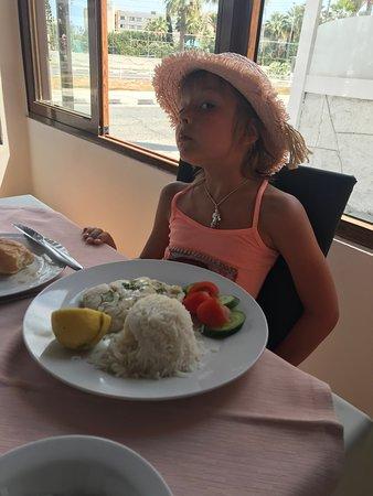 Vettriano's Restaurant: рыбка на пару у моей рыбки