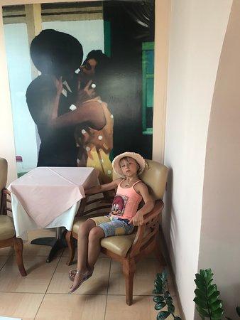 Vettriano's Restaurant: приятная обстановка
