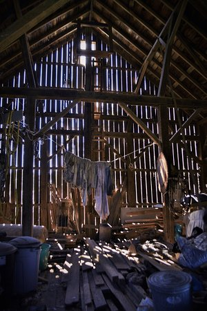 Brandon, มินนิโซตา: A barn built in 1890 and in continuous working condition.