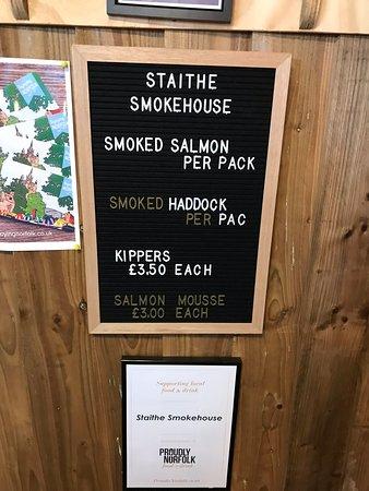The White Horse Restaurant: Brancaster Staithe Smokehouse