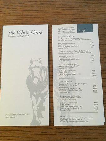 The White Horse Brancaster Staithe