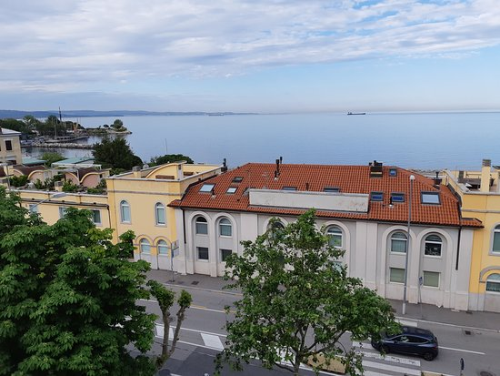 Greif Maria Theresia : View of the sea from my room.