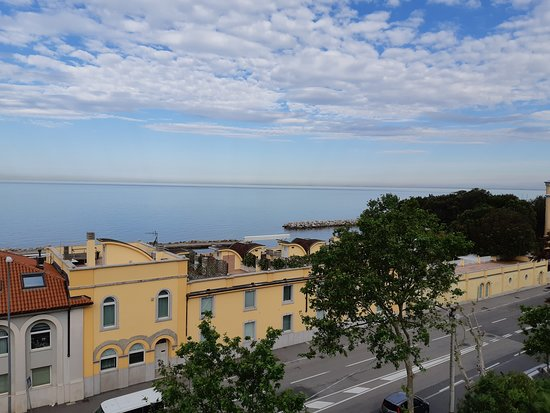 Greif Maria Theresia : Another view of the sea from my room.