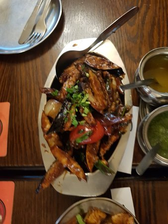 Paddy's Marten Dhaba: Monday evening meal