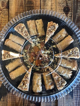 Baklava and Baklava Cheesecake
