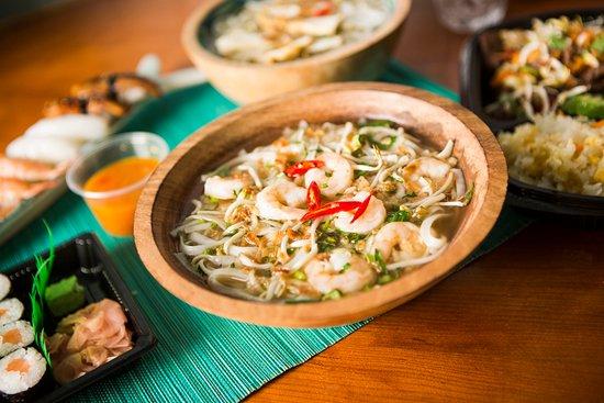 Shrimp Pho soup