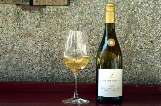Víno Bimerle Grauer Burgunder