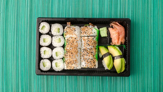 Little Geisha Can Cook: Vegan maki szett