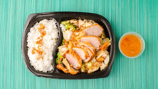 Little Geisha Can Cook: Fried duck with vegetables and jasmine rice