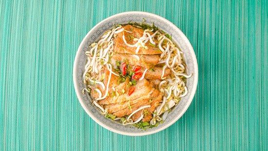 Little Geisha Can Cook: Fried soya slides Pho soup