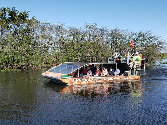 Southwest Ranches, ฟลอริด้า: Airboat Tour