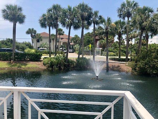 Six Palms 3A- nice but noisy! - Review of Gulf Place Caribbean, Santa Rosa Beach, FL - Tripadvisor