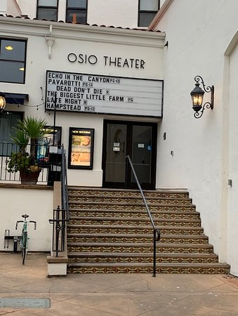 This theater is tucked back off the street. You'll have to look for it.