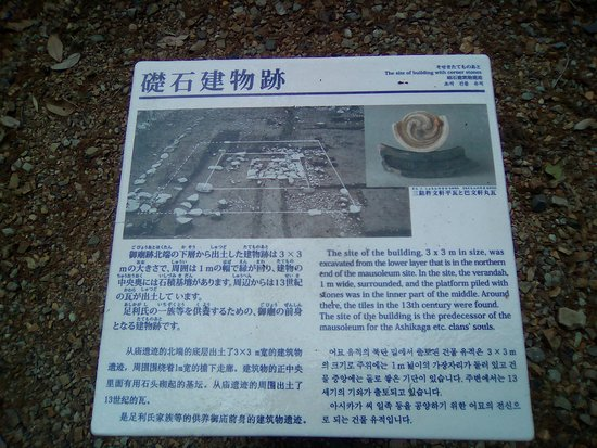 礎石建物跡の説明
