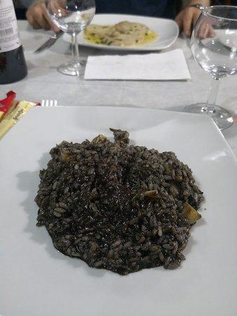 Lo Schiaccianoci: My risotto