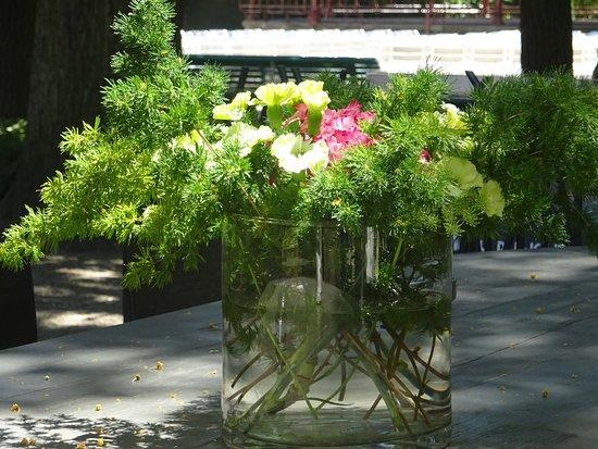 Thabor La Terrasse: Déco fleurie