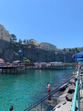Very cool place to get tan and good sea swimming!