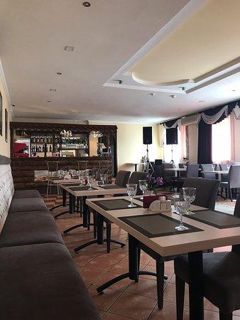 Soyuz Cafe: Внутренний интерьер