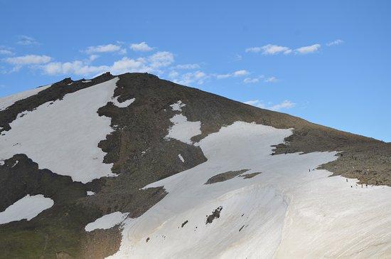 At Babusar top
