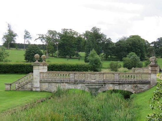 Easton Walled Gardens: Bridge and beyond