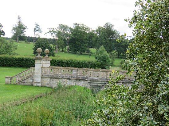 Easton Walled Gardens: The bridge