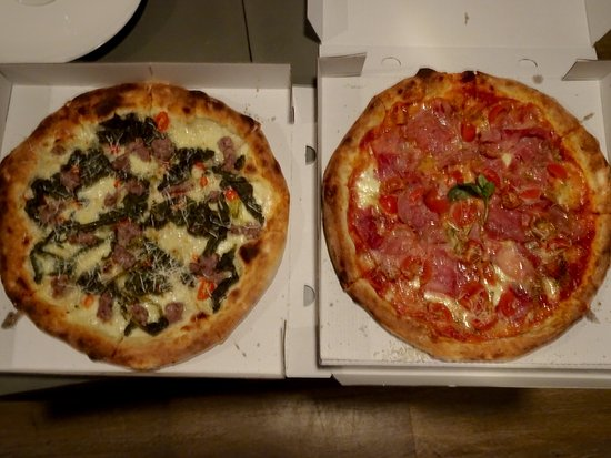 Pizze Bianche and Pizze Rosse