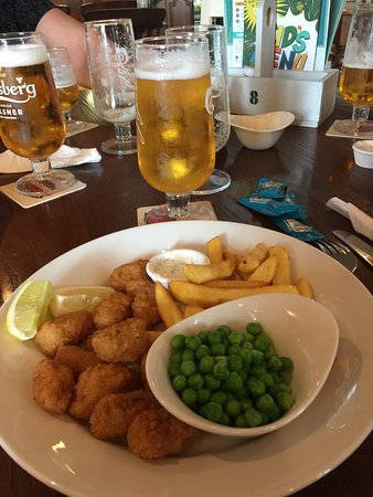The Milestone - Crystal Peaks: This is the scampi which was a winner at only £6.15