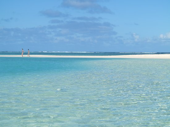 Ile Plate Beach: Faut aimer le bleu...