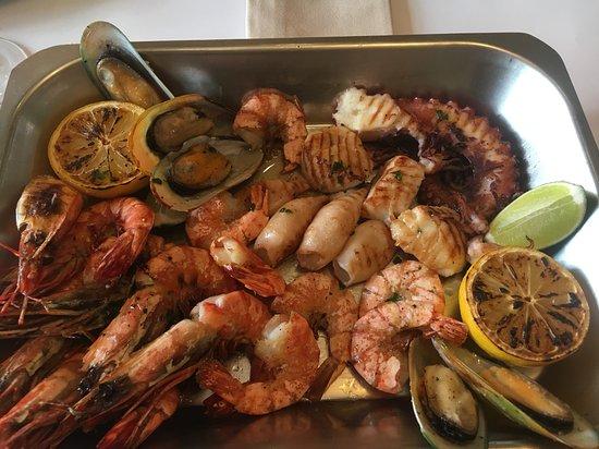 MAREA : Плато с морепродуктами на гриле