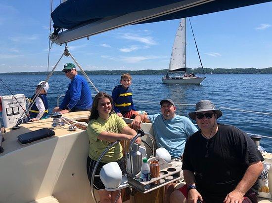 Traverse City Sailing!