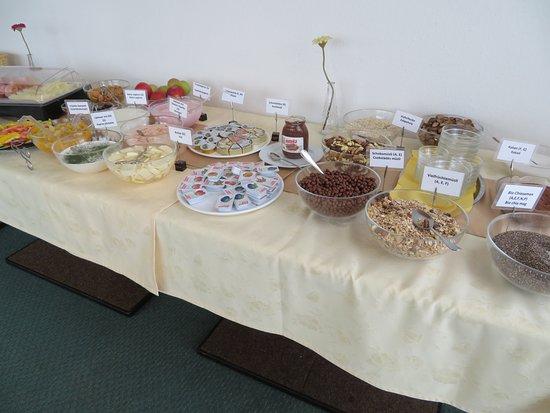 Lackenhof am Otscher, Αυστρία: Tolles Frühstücksbuffet