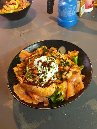 Rive-de-Gier, ฝรั่งเศส: Salade fraicheur