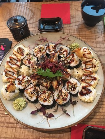 The BEST sushi you can find around here.