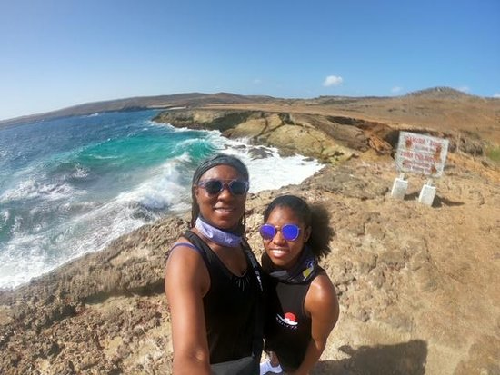 Mother Daughter 2019 Vacation.  Aruba Excursion off of the Carnival Horizon