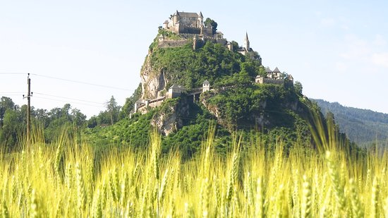 Die Burg Hochosterwitz beschreibt man am besten mit Bildern...