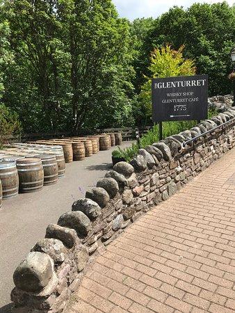 İskoçya, UK: Glenturret Distillery