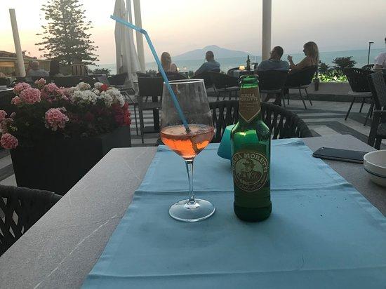 Grand Hotel Vesuvio : Outside bar terrace