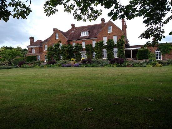 Burnham, UK: Rear of Dorney wood House