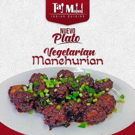 Taj Mahal Indian Cuisine: Vegetales Manchurian