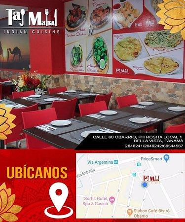 Estamos ubicados en Ciudad de Panama, Obarrio, calle 60 ph Rosita.