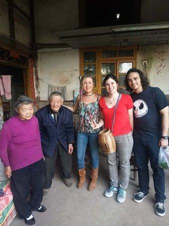 Jiajiang County, China: Tea farmer house home-visit.