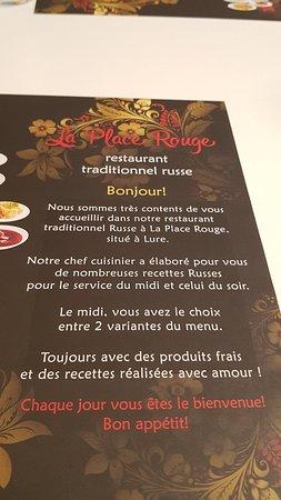 Restaurant traditionnel russe a La Place Rouge Photo