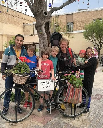 Shiraz. Ashkan and  German family