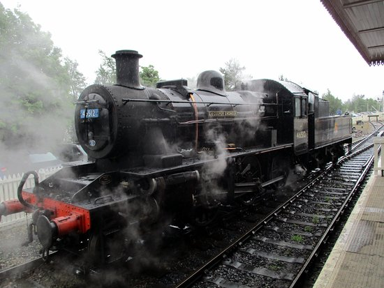Fraoch Lodge: great train ride to Aviemore