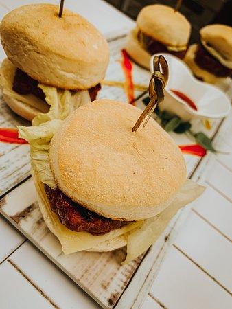 Tapas di mini-hamburger