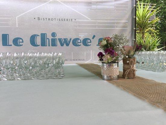Apéritif Événement Mariage au restaurant le Chiwee's zone de brais à Saint-Nazaire près de Pornichet et Saint-André des eaux