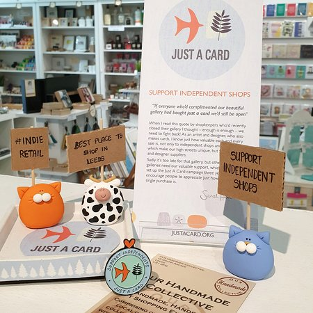 Support your local Independent retailers  #justsupportsmall justacard.org