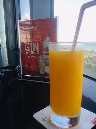 Akemi Revolving Restaurant: Fresh Mango juice