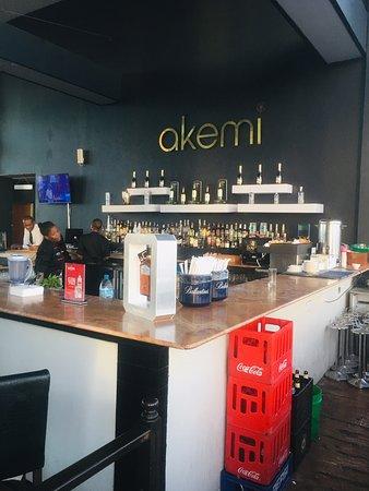 Akemi Revolving Restaurant: Counter of Akemi