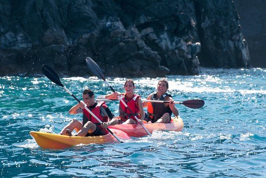 Sea Adventure Dive Club Tenerife - Kayaking and Snorkelling in turtle bay